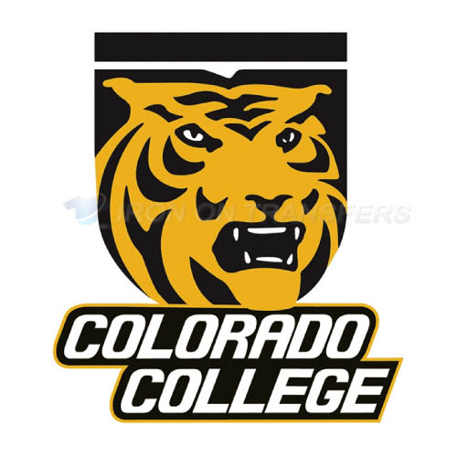 Colorado College Tigers logo T-shirts Iron On Transfers N4173